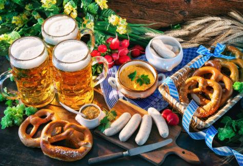 Bayerisches Picknick am Samstag