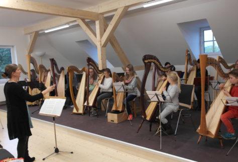 Harfenworkshop in der Musikschule Menden
