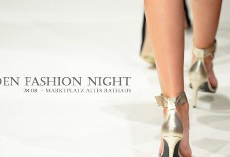 Fashion Night vor dem Alten Rathaus