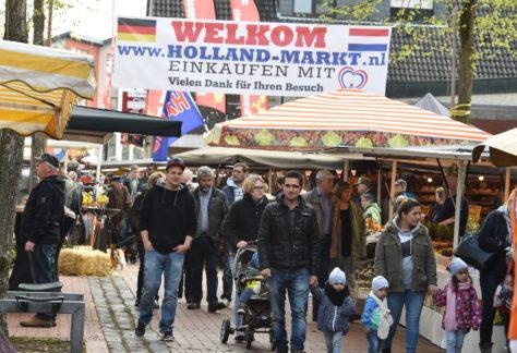 Hollandmarkt in der Mendener Innenstadt