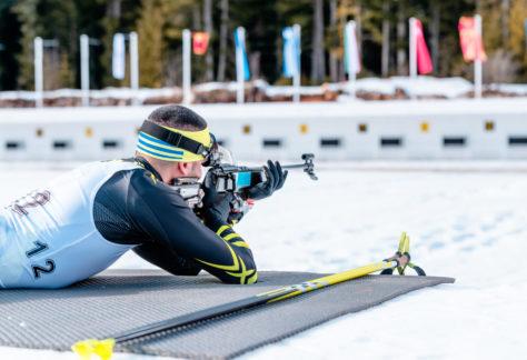 Erste Mendener Biathlonstaffel- Stadtmeisterschaft